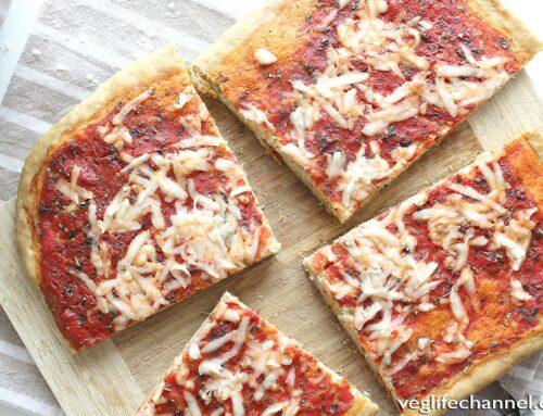 Pizza senza lievito e senza lievitazione | ricetta facile e veloce!