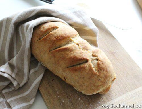Pane senza lievito e senza lievitazione | Ricetta facile e veloce