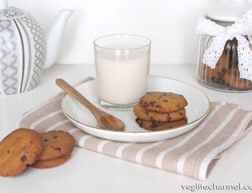 Biscotti con gocce di cioccolato | Vegan, senza glutine