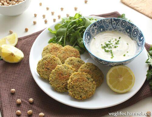 Falafel al forno | Senza glutine, vegan
